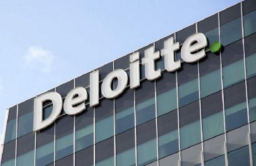 Deloitte signage