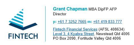 Email signature Grant